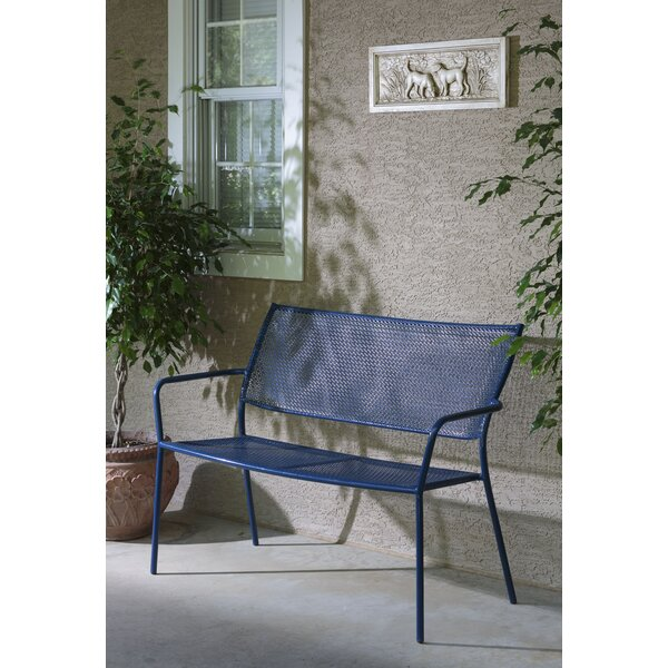 Latorre Wrought Iron Garden Bench by Brayden Studio