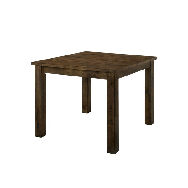 Quintara Counter Height Solid Wood Dining Table by Loon Peak