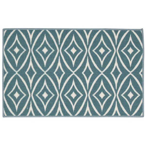 Fancy Free & Easy Centro Aqua Accent Rug by Waverly