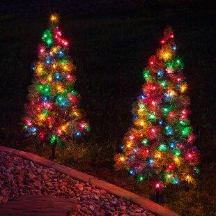 winchester fir prelit 3 walkway tree net lights
