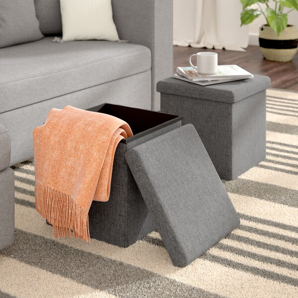Hogue Storage Ottoman (Set of 2) by Zipcode Design