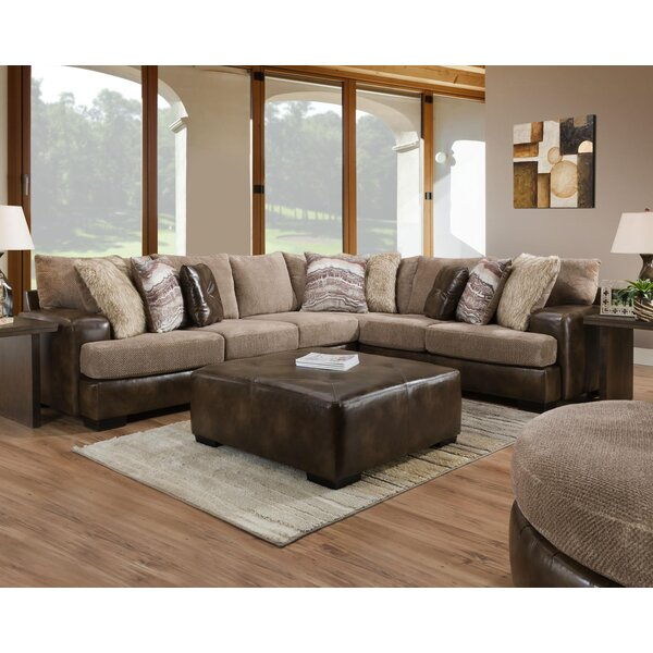 Mccarley Sectional with Ottoman by Red Barrel Studio