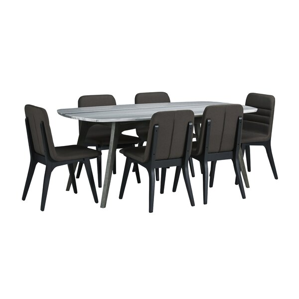 Dumfries 7 Piece Dining Set by Brayden Studio Brayden Studio