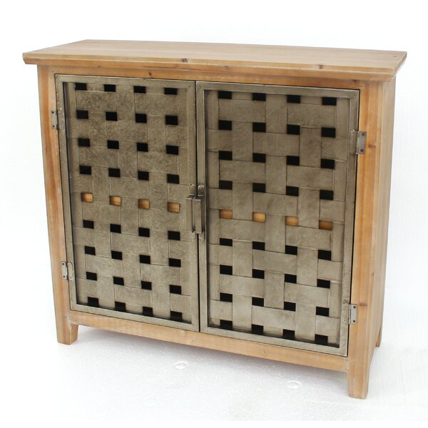 Schiff Wooden/Metal Accent Cabinet by Millwood Pines