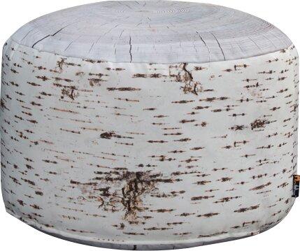 Pouf Linden Outdoor Stump Union Rustic | Wohnzimmer > Hocker & Poufs > Poufs | Union Rustic