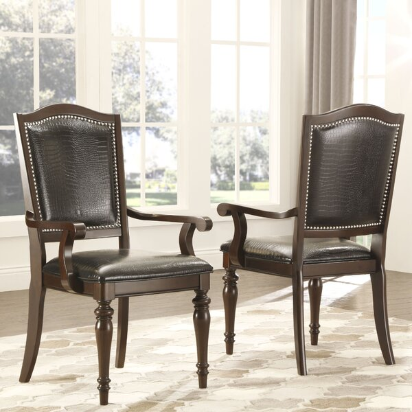 Hobart Solid Wood Dining Chair (Set of 2) by Darby Home Co