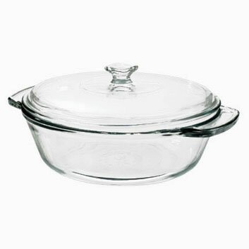 2-qt. Round Casserole (Set of 3) by Anchor Hocking