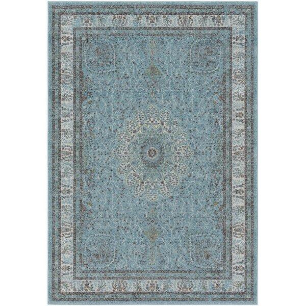Mekhi Blue Area Rug by Ophelia & Co.