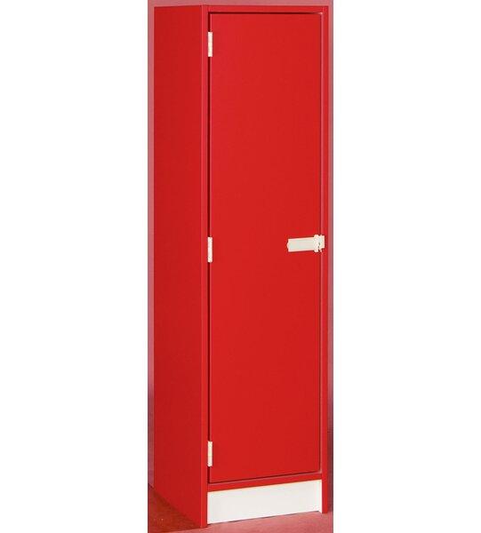1 Tier 1 Wide School Locker by Stevens ID Systems