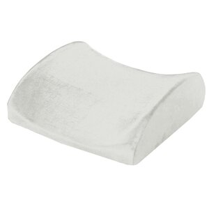 Natural Pedic Lumbar Support Cushion Memory Foam Pillow By Remedy