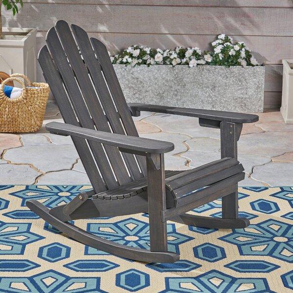 Larracey Rocking Chair by Gracie Oaks