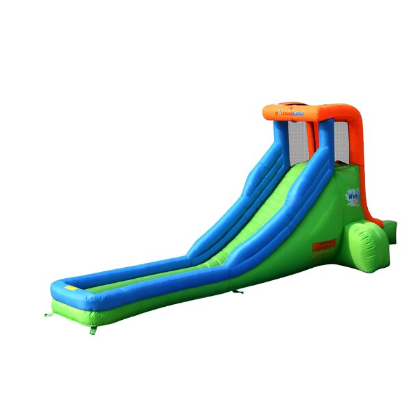 Inflatable Single Water Slide by Bounceland