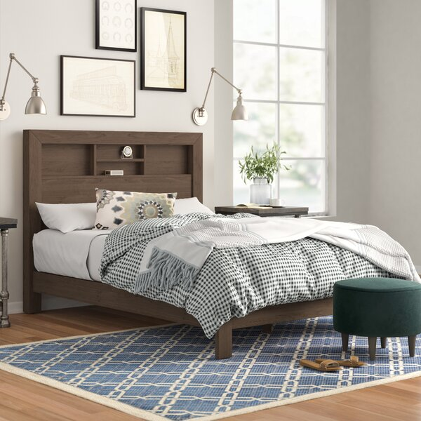 Kennon Upholstered Bed by Three Posts
