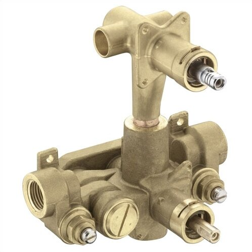 M-Pact 3 Function Built Transfer Valve with 1/2 CC Connection by Moen