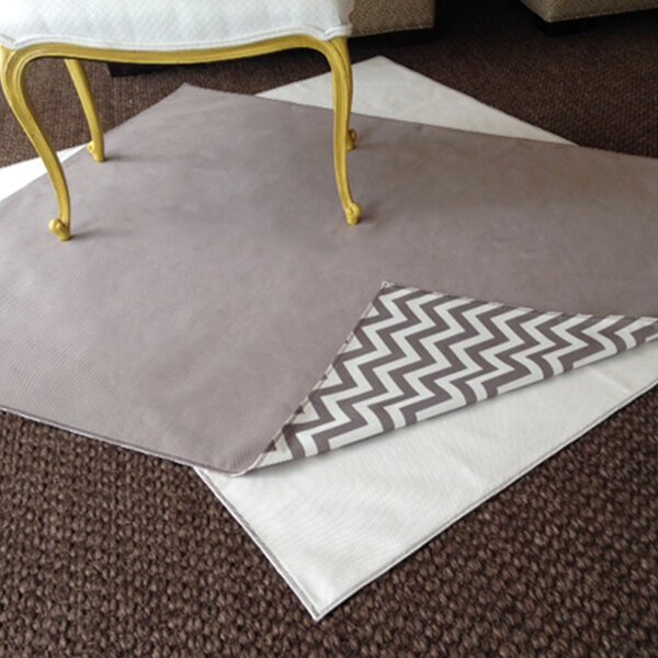 Drop Zone Gray Area Rug / Splat Mat by Messy Marvin