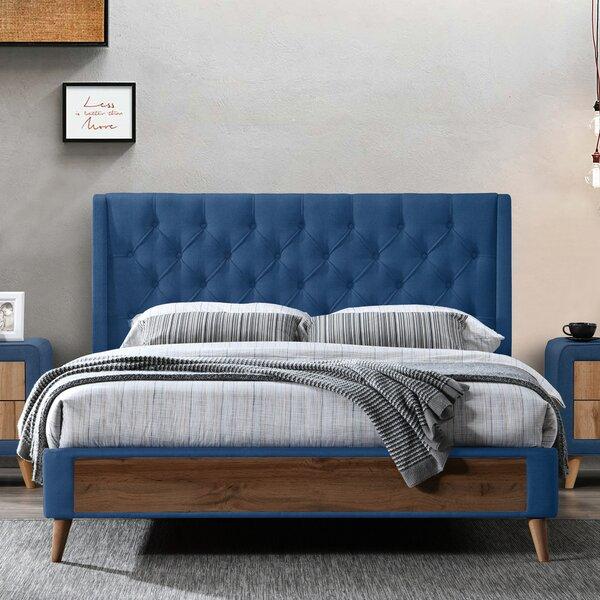 Abigail Queen Upholstered Platform Bed By George Oliver