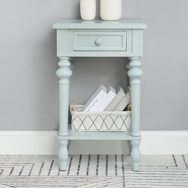 Booher End Table by Charlton Home