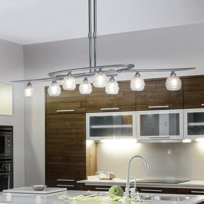 lighting for kitchen islands. loop 8light kitchen island pendant lighting for islands