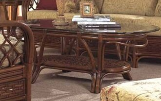 Coco Cay Coffee Table by Boca Rattan