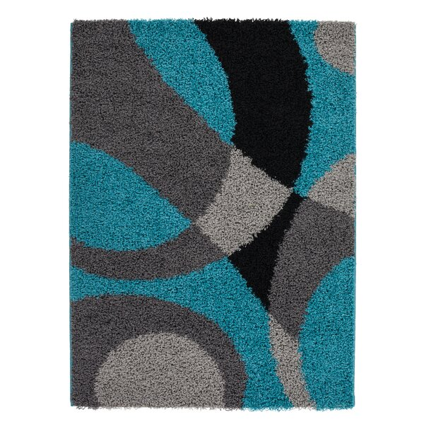 Staten Turquoise/Gray Area Rug by Orren Ellis