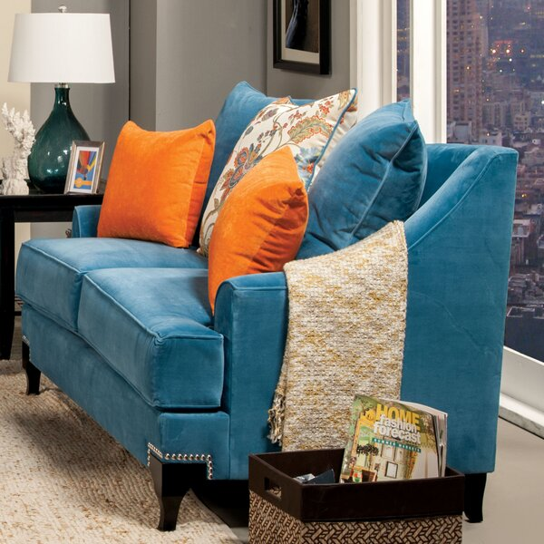 Back East Loveseat by Darby Home Co