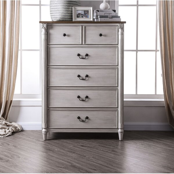 Elzada 5 Drawer Chest by Rosecliff Heights