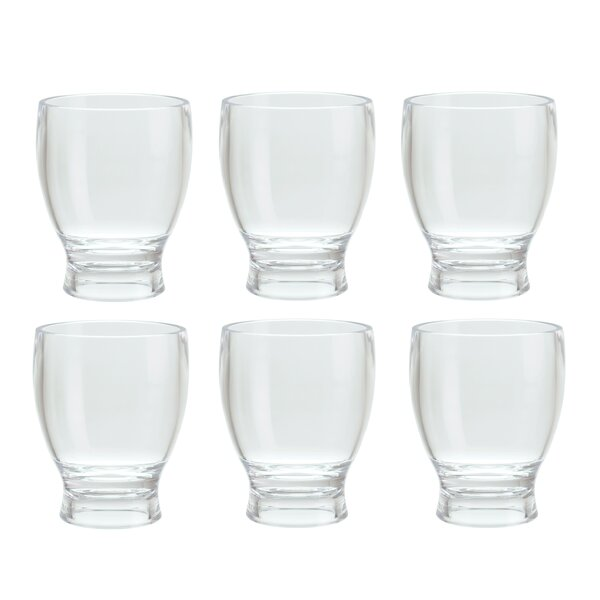 Thames Wheat Beer Style 12 Oz. Plastic/Acrylic Every Day Glasses (Set of 6) by Red Barrel Studio