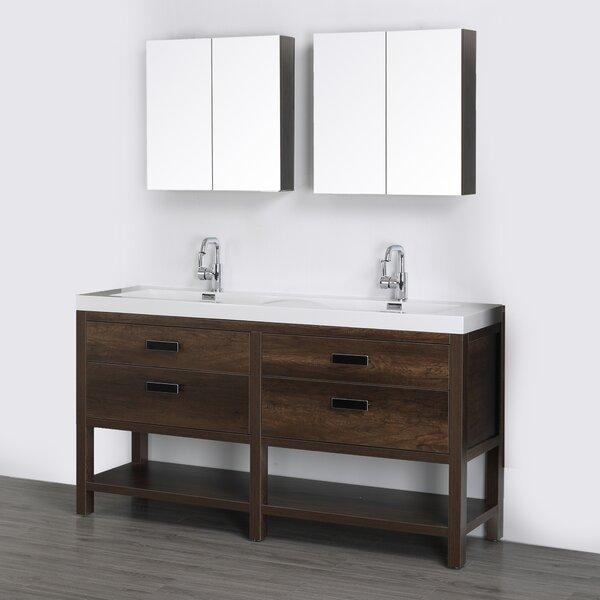 63 Single Bathroom Vanity Set with Mirror