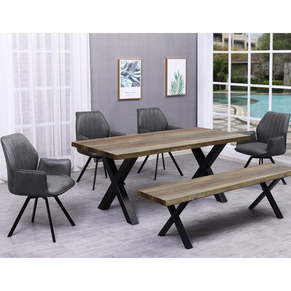 Brentley 6 Piece Dining Set by Union Rustic Union Rustic