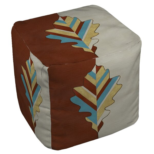 Apache Leaf Pouf by Manual Woodworkers & Weavers