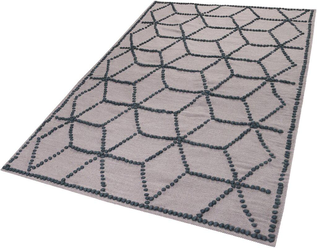 esprit handgefertigter teppich fiesta in taupe grau bewertungen. Black Bedroom Furniture Sets. Home Design Ideas