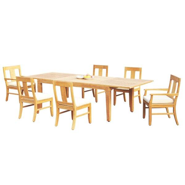 Massasoit 7 Piece Teak Dining Set