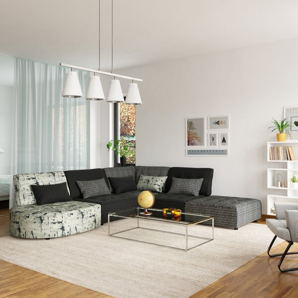 Darrius Modular Sectional with Ottoman by Red Barrel Studio