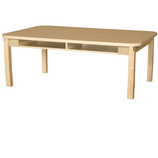Manufactured Wood Multi-Student Desk by Wood Designs