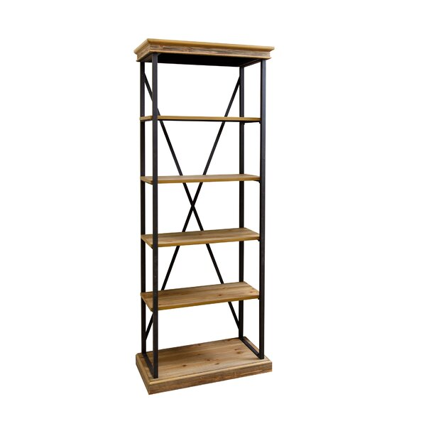 Amberly Etagere Bookcase by August Grove