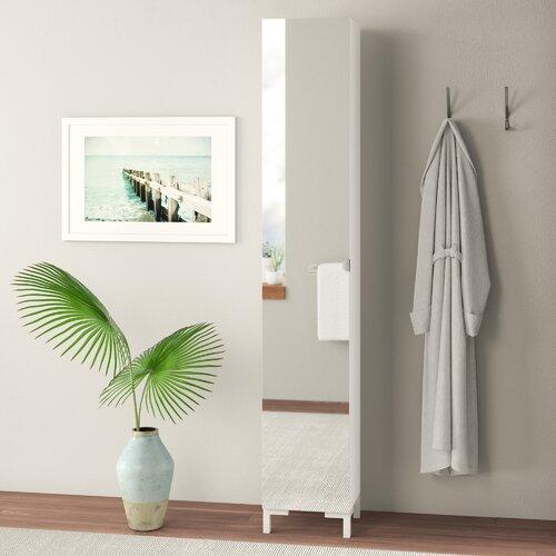 33.5 x 195.5 cm Wäscheschrank ClearAmbient | Schlafzimmer > Kleiderschränke > Drehtürenschränke | ClearAmbient