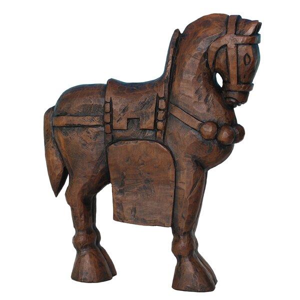 Resin Horse Figurine by Sagebrook Home