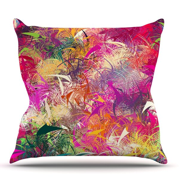 Splash by Danny Ivan Outdoor Throw Pillow by East Urban Home