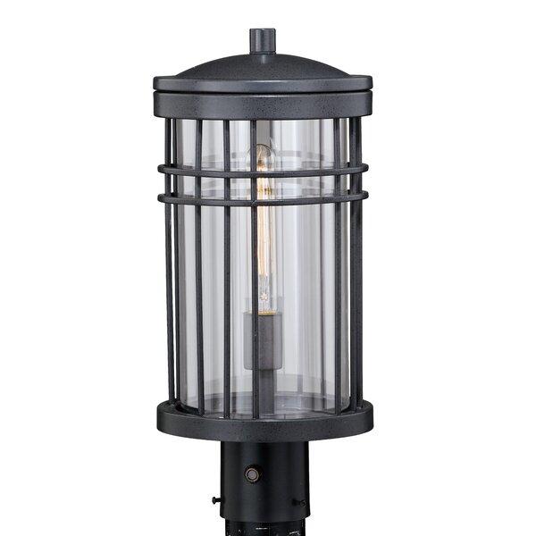 Sathvik Outdoor 1-Light 18 Post Light by Brayden Studio