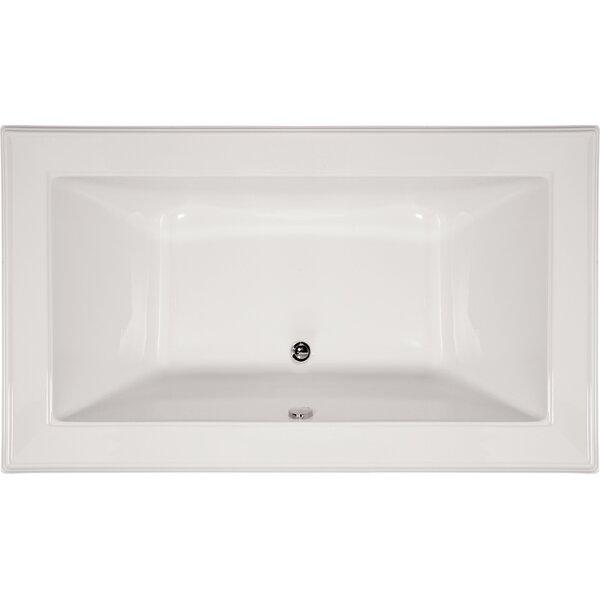 Designer Angel 66 x 42 Soaking Bathtub by Hydro Systems