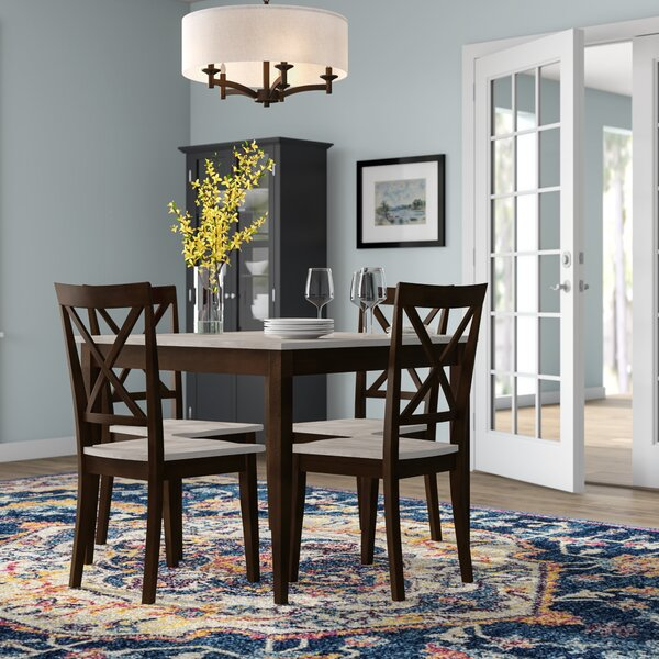 Tilley Rustic 5 Piece Dining Set by Andover Mills