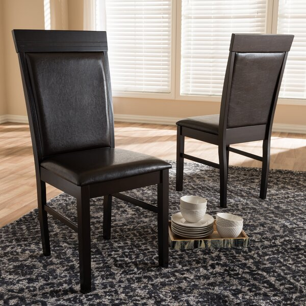 Felten Upholstered Dining Chair (Set of 2) by Winston Porter