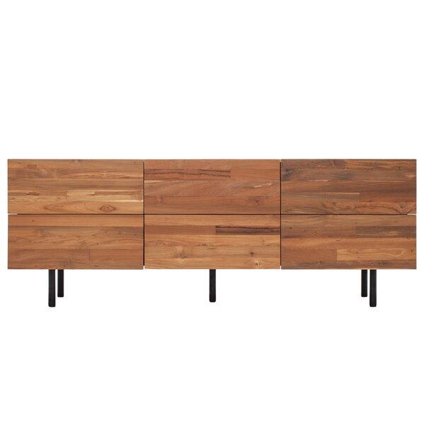 Reclaimed Teak 6 Drawer Dresser by EQ3