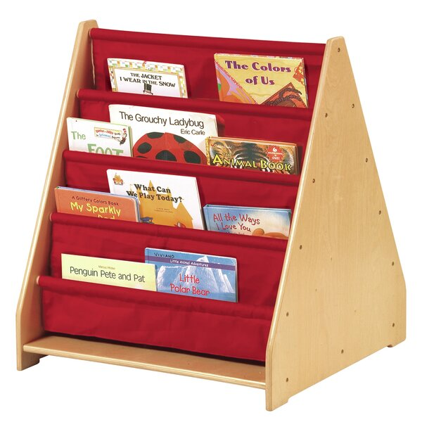 Double Sided 8 Compartment Book Display by Guidecraft