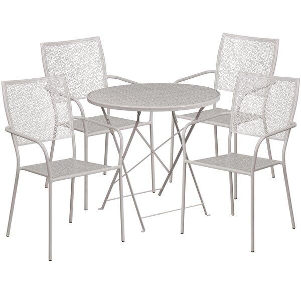Abe 5 Piece Dining Set by Zipcode Design