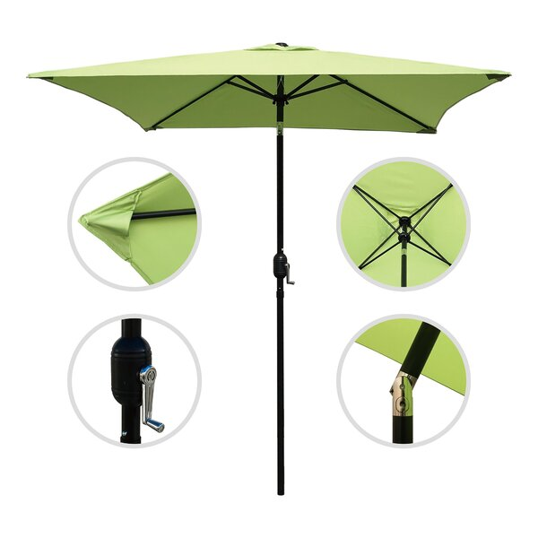 Horicon 6.5' Square Market Umbrella by Charlton Home Charlton Home