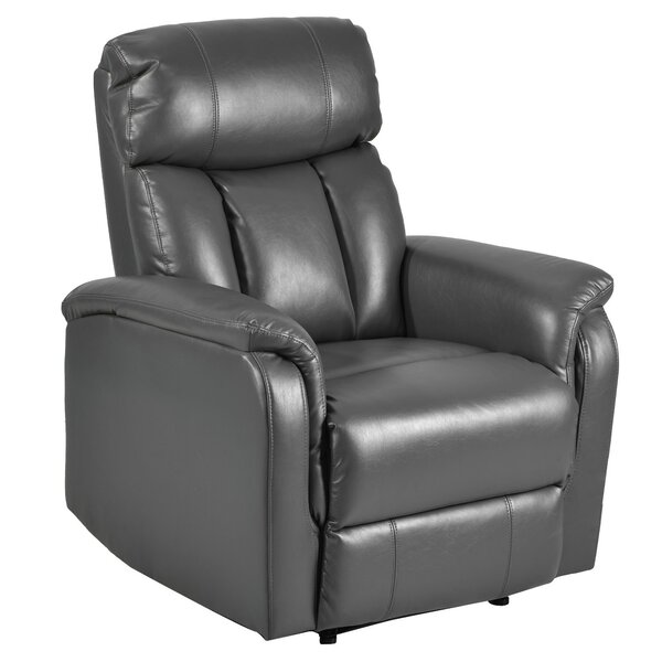 Maxville Faux Leather Manual Rocker Recliner W003250485