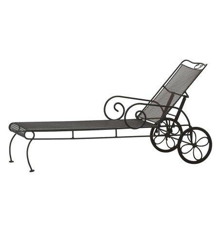 Cantebury Reclining Chaise Lounge by Woodard Woodard
