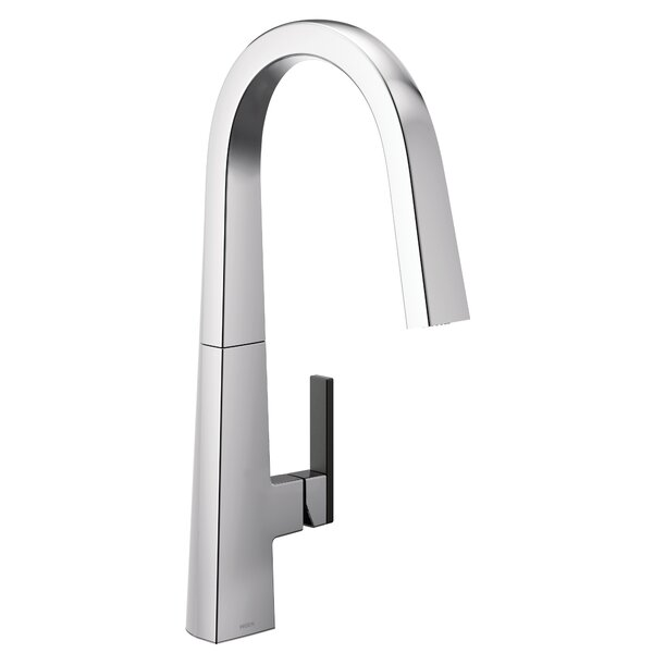 Nio Pull Down Single Handle Kitchen Faucet By Moen