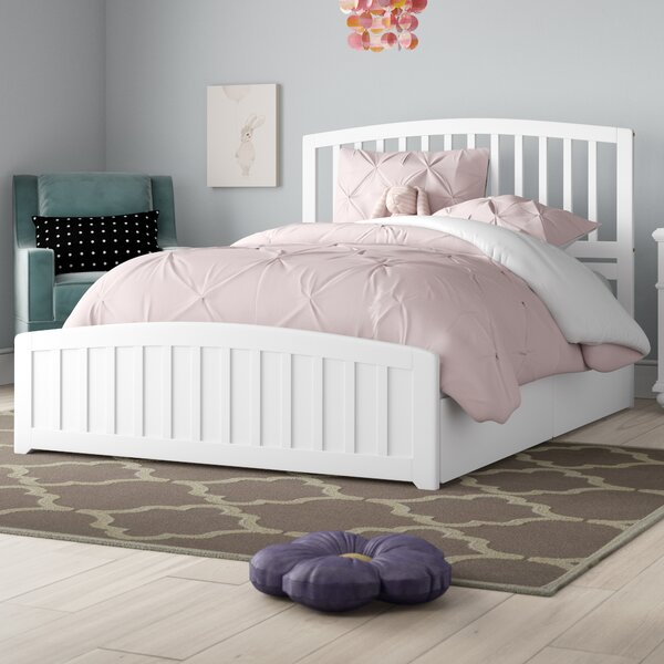 Progreso Platform Bed with 2 Drawers by Harriet Bee